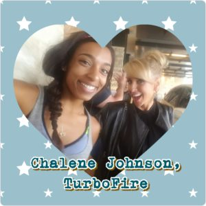 Beachbody Coach Brandi with Turbo Fire Chalene