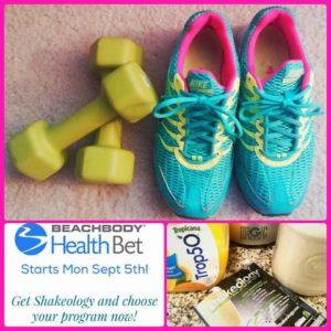 Team Beachbody Health Bet Challenge